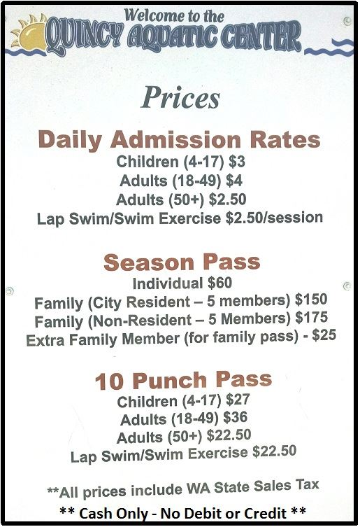 Aquatic Center Price
