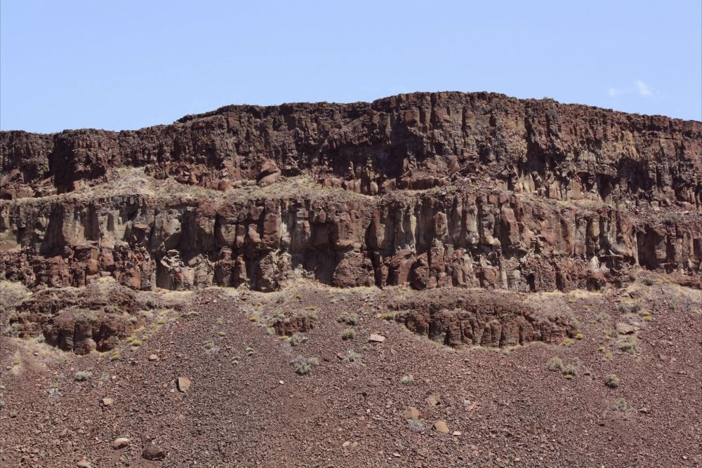 Wide image of the Basalt Columns