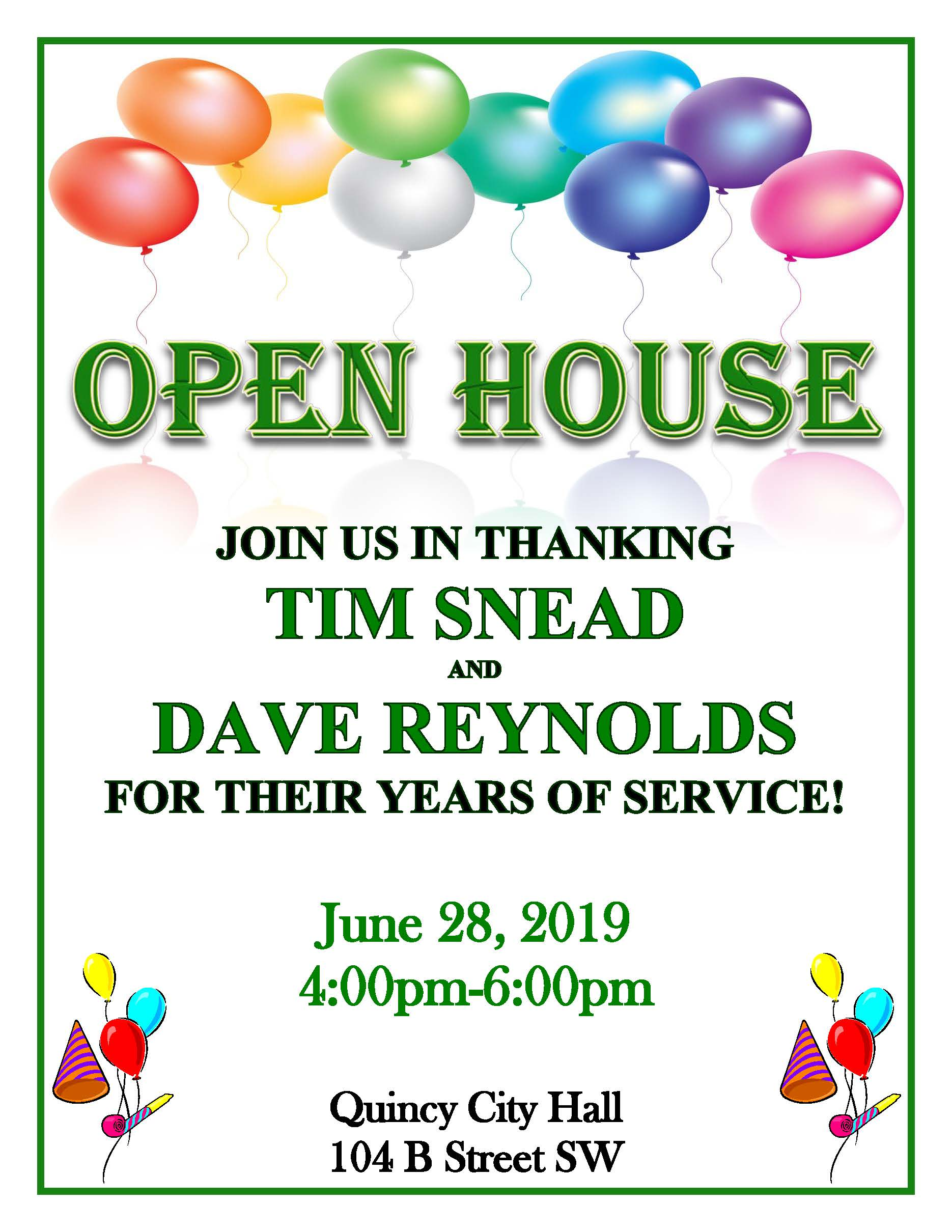 Snead  Reynolds Open House